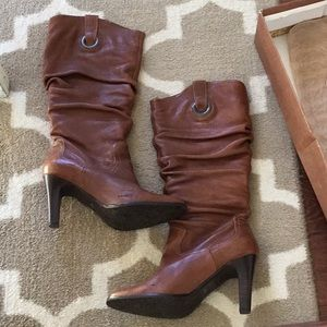 Matisse Shoes - 1 HR SALE Matisse Tasha Cognac Leather Boots
